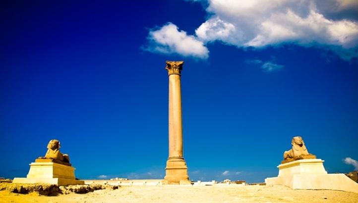Alexandria Pompey's pillar