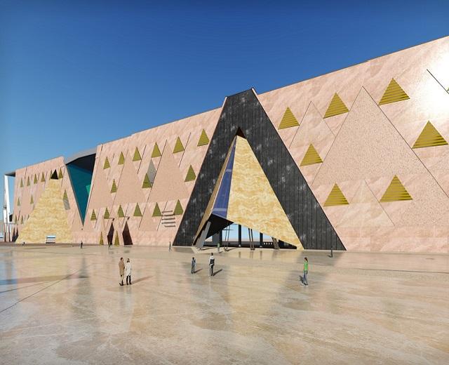 Grand Egyptian museum design