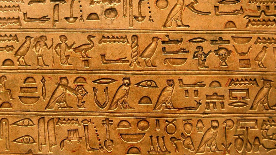 Hieroglyphic language