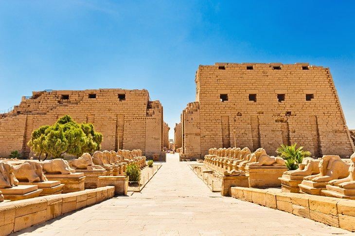 Karnak Temple in Luxor Egypt