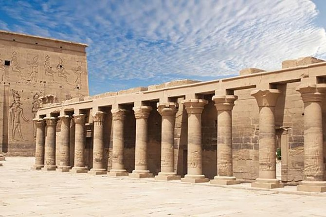 Philae The scared Isis Temple Architecture