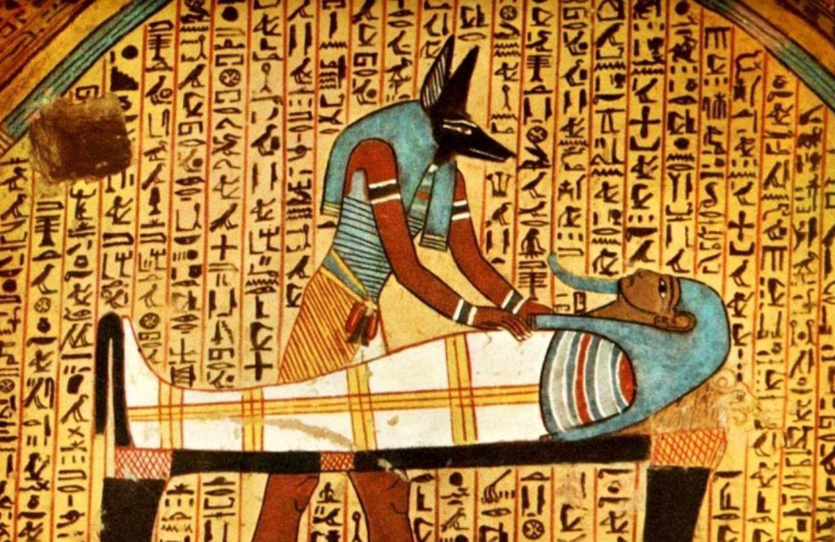 The death myth of Anubis