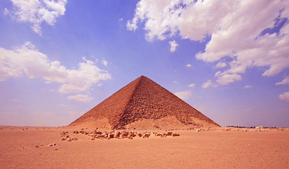 The red pyramid of Dahshur