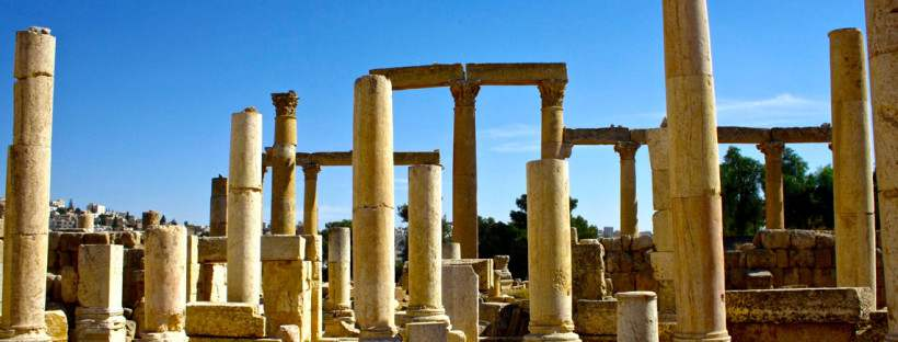 Jerash City | Best Places At Jerash City