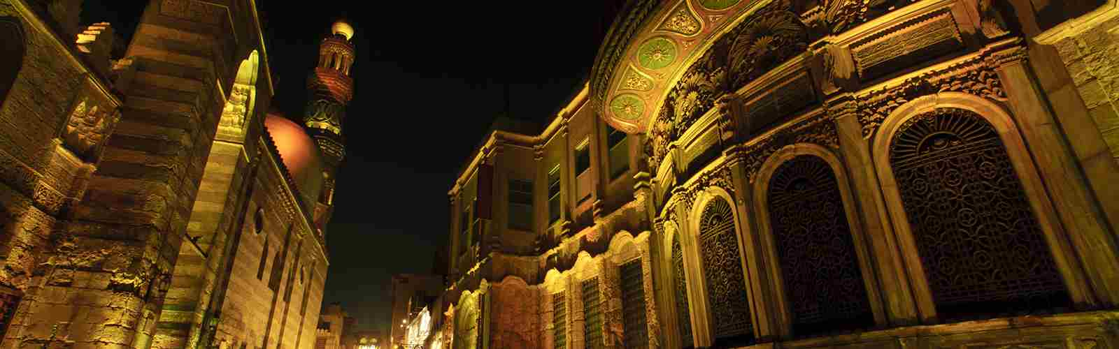 Khan El Khalili the oldest market in Egypt