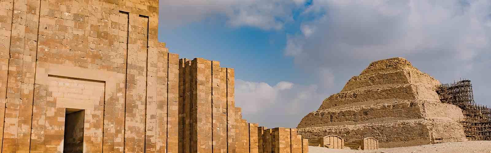Sakkara Pyramid in Egypt