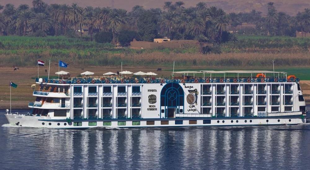 Sonesta sun goddess Nile cruise
