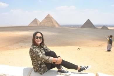 Principales puntos turísticos en el Cairo