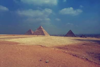 Pyramids And Nile Cruise New Year
