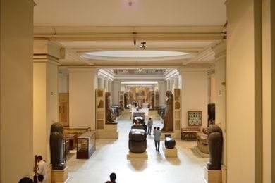 Pirámides y Museo Egipcio