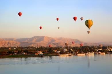 Tour de balão de ar quente