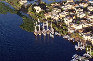Luxor Nile view