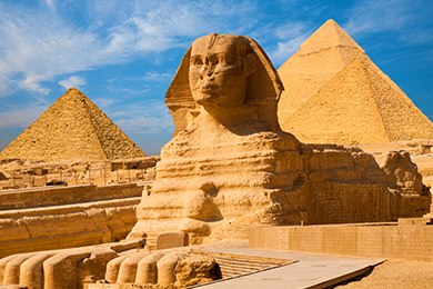 Giza Pyramids & Sphinx day tour